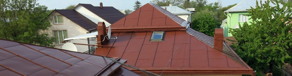 Пофарбований дах