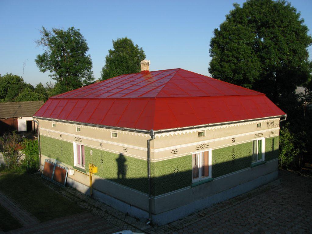 Фарбування оцинкованого даху