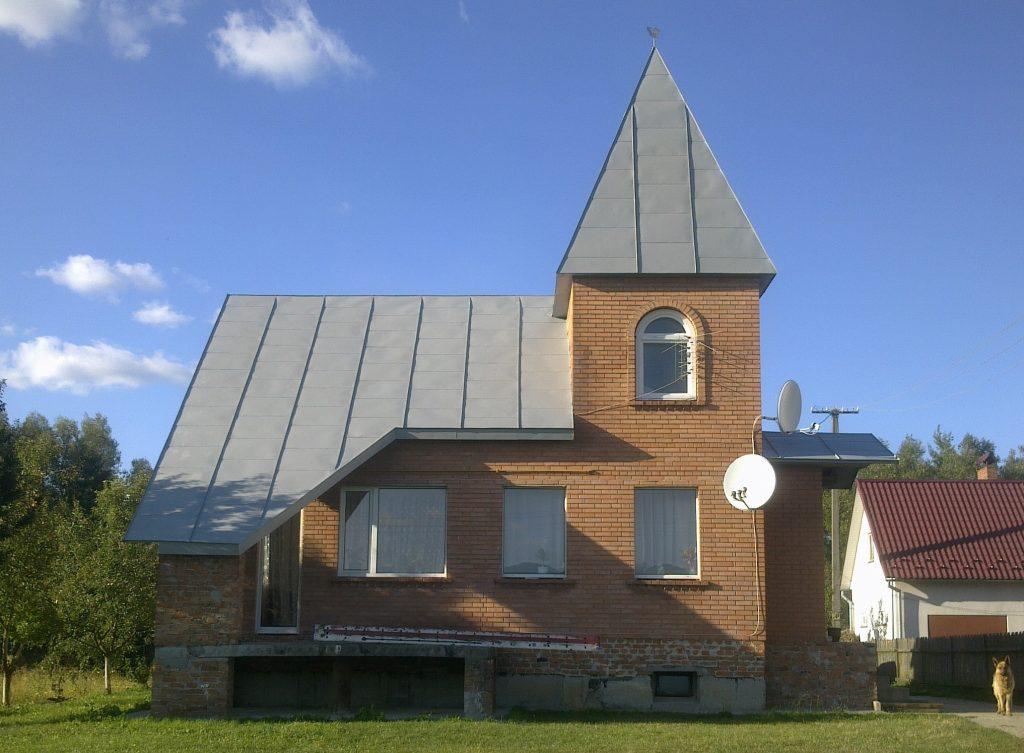 Як пофарбувати дах?